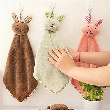 نمط جديد منشفة يد, سادة جودة فائقة صوف مخمل 100% منشفة منشفة يد