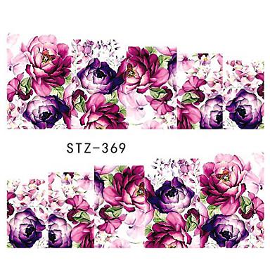 10pcs/style Nail Art tarra Veden siirto Decals meikki Kosmeettiset Nail Art Design