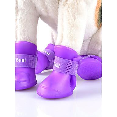 Pisici Câine Pantofi & Cizme Draguț Αντιανεμικό Reversibil Impermeabil Modă Sport Mată Portocaliu Mov Galben Verde Pentru animale de