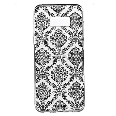 Για Διαφανής Με σχέδια tok Πίσω Κάλυμμα tok Σχέδιο δαντέλα Μαλακή TPU για Samsung S8 S8 Plus S7 edge S7 S6 edge plus S6 edge S6 S4 Mini S4