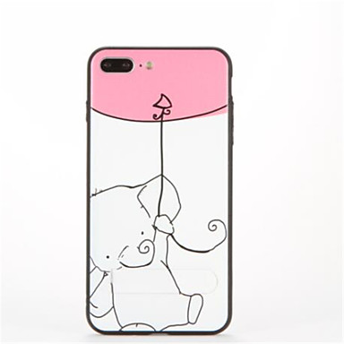 Για με βάση στήριξης Με σχέδια tok Πίσω Κάλυμμα tok Ελέφαντας Σκληρή PC για AppleiPhone 7 Plus iPhone 7 iPhone 6s Plus iPhone 6 Plus