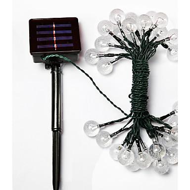 GMY® 6m Dizili Işıklar 30pcs LED'ler Sıcak Beyaz Şarj Edilebilir Su Geçirmez <5V