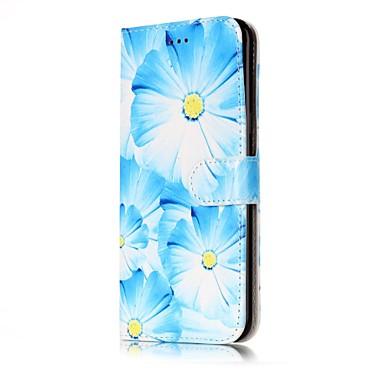 غطاء من أجل Samsung Galaxy S8 Plus S8 حامل البطاقات محفظة مع حامل قلب غطاء كامل للجسم زهور قاسي جلد PU إلى S8 Plus S8 S7 edge S7 S6 edge