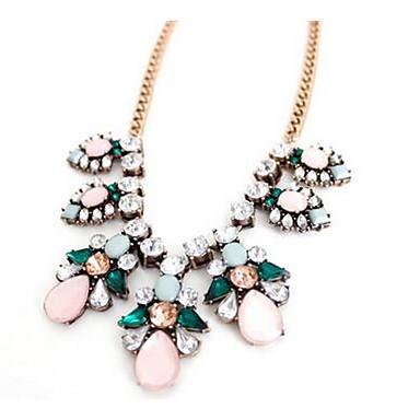 Pentru femei Coliere cu Pandativ imitație de diamant Diamante Artificiale Floral Bijuterii Pentru Petrecere