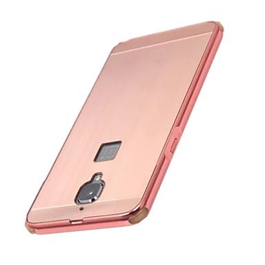 Na Galwanizowane Kılıf Etui na tył Kılıf Jeden kolor Twarde Aluminium na OnePlus One Plus 3 One Plus 2 One Plus X One Plus 3T