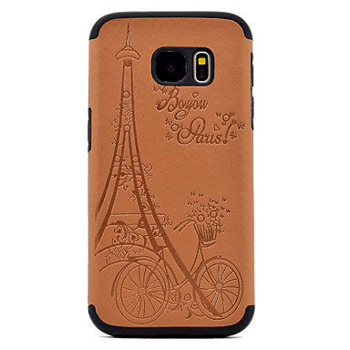 Etui Käyttötarkoitus Samsung Galaxy S8 Plus S8 Koristeltu Takakuori Eiffel-torni Pehmeä PU-nahka varten S8 S8 Plus S7 edge S7