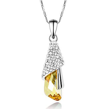 Dames Hangertjes ketting Sieraden Sieraden Kristal Strass Legering Uniek ontwerp Modieus Euramerican Sieraden Voor Feest Anders >>