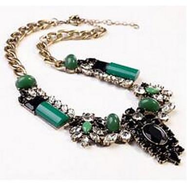 Pentru femei Coliere cu Pandativ Mai multe pietre Imitație de Perle Piatră Preţioasă La modă Euramerican Floral Bijuterii PentruPetrecere