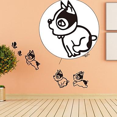 Hayvanlar Tatil Serbest Duvar Etiketler Uçak Duvar Çıkartmaları Dekoratif Duvar Çıkartmaları,Kağıt Malzeme Ev dekorasyonu Duvar Çıkartması