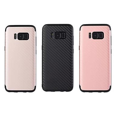 Maska Pentru Samsung Galaxy S8 Plus S8 Anti Șoc IMD Capac Spate Culoare solidă Moale TPU pentru S8 Plus S8