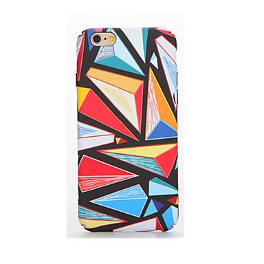 Για Λάμπει στο σκοτάδι Ανάγλυφη Με σχέδια tok Πίσω Κάλυμμα tok Γεωμετρικά σχήματα Μαλακή TPU για AppleiPhone 7 Plus iPhone 7 iPhone 6s