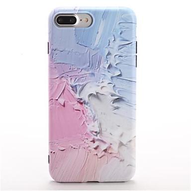 Pentru Model Maska Carcasă Spate Maska culoare Gradient Moale TPU pentru Apple iPhone 7 Plus iPhone 7