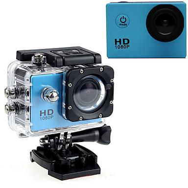 كاميرا ستاي / كاميرا النشاط 16MP 640 x 480 1920 x 1080 1280 x 720 LED ضد الماء الكل في واحد معدل USB G-Sensor زاوية واسعة 60FPS لا 2 CMOS