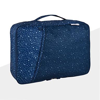 منظم أغراض السفر المحمول سعة كبيرة تخزين السفر إلى ملابس نايلون / السفر