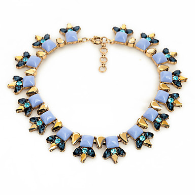 Γυναικεία Σκέλη Κολιέ Geometric Shape Φιλία μινιμαλιστικό στυλ Μπλε Απαλό Κοσμήματα Για Πάρτι 1pc