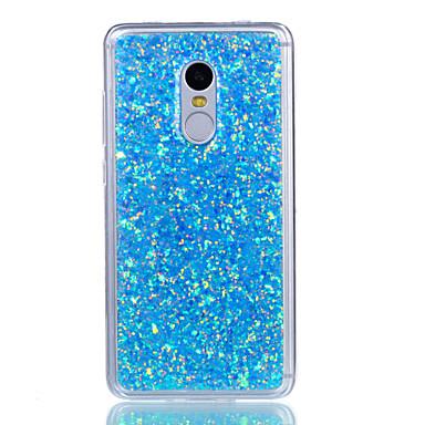 Voor xiaomi redmi note 4 redmi note 3 case cover schokbestendig achterhoesje glitter shine zacht acryl voor xiaomi mi 5