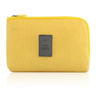 حقيبة مستحضرات التجميل منظم أغراض السفر المحمول متعددة الوظائف تخزين السفر إلى كابلUSB ملابس نايلون / السفر