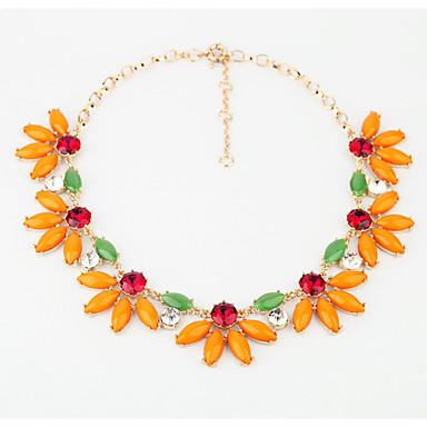 Γυναικεία Σκέλη Κολιέ Flower Shape Μοναδικό Euramerican Πορτοκαλί Κοσμήματα Για Causal Χριστουγεννιάτικα δώρα 1pc