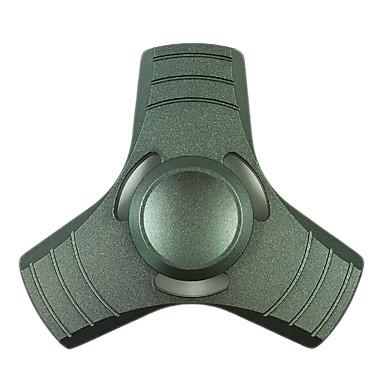 Fidget spinner -stressilelu hand Spinner Lelut Tri-Spinner Metalli Klassinen Pieces Poikien Tyttöjen Lahja