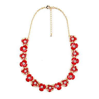 Pentru femei Toroane Coliere Flower Shape Prietenie Cute Stil Rosu Bijuterii Pentru 1 buc
