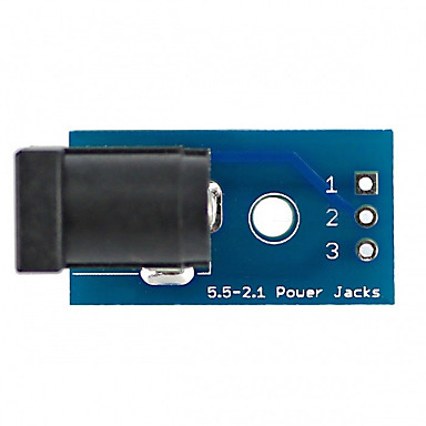 Dc005 to dip adapter board dc jack power verbinder board module