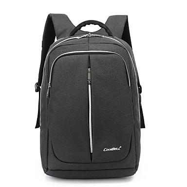 Laptop 15,6 inch laptop rezistent la apa de nylon, cu port USB de încărcare laptop rucsac sac pentru macbook / dell / hp / lenovo / sony /
