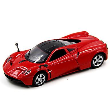 Speelgoedauto's Racewagen Speeltjes Muziek en licht Automatisch Metaal Stuks Unisex Geschenk