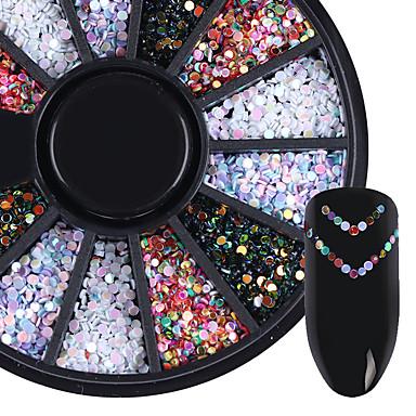 1box Unghiul de bijuterii Glitter & Poudre Glitters Modă Calitate superioară Zilnic
