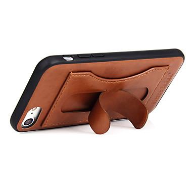 Fierre shannl® für apfel iphone 7 7 plus kartehalter mit standkasten rückseitige abdeckungsfall Normallack anderes hartes echtes Leder