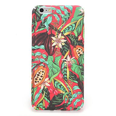 iPhone 7 7plus suojus kuvio takakansi tapauksessa puu kukka kovaa pc 6s plus 6 plus 6s 6