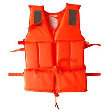 سترة النجاة مقاوم للماء سريع جاف متنفس سباحة غوص تزلج على الماء إبحار كلاسيكي البرتقالي
