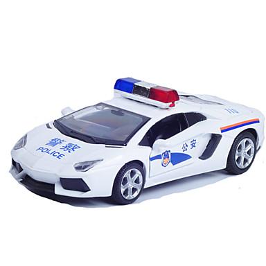سيارات السحب سيارة الشرطة ألعاب ألعاب معدن قطع للجنسين هدية