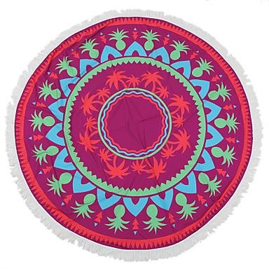 Taze Stil Kumsal Havlusu,Duyarlı Baskı Üstün kalite %100 Polyester Havlu