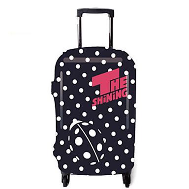 غطاء حقائب السفر اكسسوارات السفر إلى البوليستر البولكا النقاط