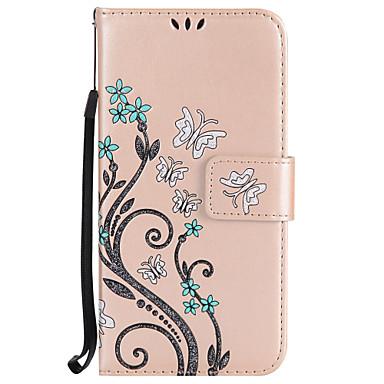 tok Για Samsung Galaxy S8 Plus S8 Πορτοφόλι Θήκη καρτών με βάση στήριξης Με σχέδια Πλήρης κάλυψη Λουλούδι Σκληρή PU Δέρμα για S8 S8 Plus
