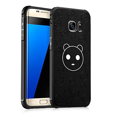 غطاء من أجل Samsung Galaxy ضد الصدمات نموذج مطرز غطاء خلفي كارتون ناعم TPU إلى S7 S6