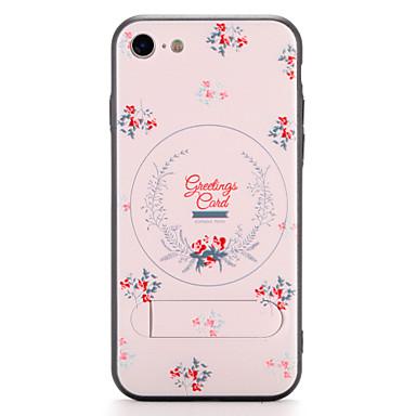Για Apple iphone 7 7plus κάλυψη περίπτωση με περίπτερο μοτίβο πίσω κάλυψη λουλούδι σκληρό pc 6s plus 6 plus 6s 6