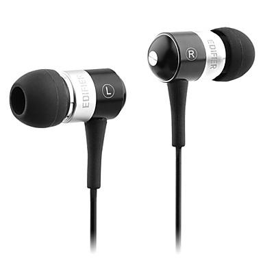 Edifier h285 mobiler kopfhörer für computer in-ear verdrahtet plastik 3.5mm geräuschunterdrückung