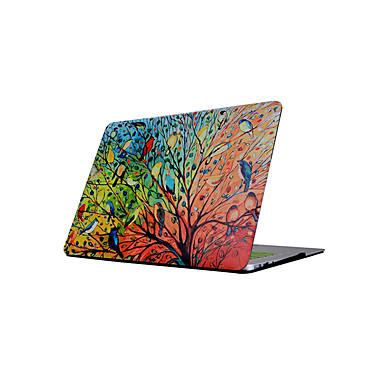 MacBook Kılıf için Çiçek Yağlı Boya PVC Yeni MacBook Pro 15
