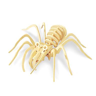 3D - Puzzle Holzpuzzle Holzmodelle Modellbausätze Ente SPIDER Insekt Spielzeuge 3D Tiere Heimwerken Holz Klassisch Unisex Geschenk