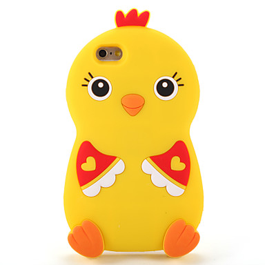 Na Etui Pokrowce Wzór Etui na tył Kılıf Kreskówka 3D Miękkie Silikon na AppleiPhone 7 Plus iPhone 7 iPhone 6s Plus iPhone 6 Plus iPhone