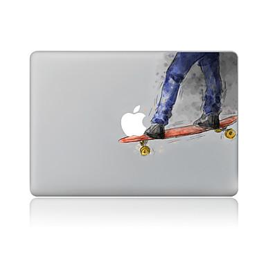 1 parça Çizilmeye Dayanıklı Karton Şeffaf Plastik Vucüt Stickerları Tema IçinMacBook Pro 15'' with Retina MacBook Pro 15'' MacBook Pro