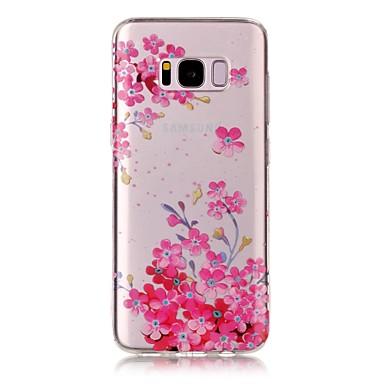 Kılıf Na Samsung Galaxy S8 Plus S8 IMD Przezroczyste Wzór Etui na tył Kwiaty Miękkie TPU na S8 S8 Plus S7 edge S7 S6 edge S6 S5
