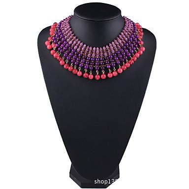 Γυναικεία Σκέλη Κολιέ Κοσμήματα Κοσμήματα Συνθετικοί πολύτιμοι λίθοι Κράμα Μοντέρνα Euramerican Κοσμήματα Για Πάρτι
