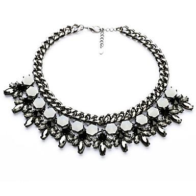 Damskie Pasemka Naszyjniki Geometric Shape Osobiste luksusowa biżuteria Black Biżuteria Na Ślub 1szt