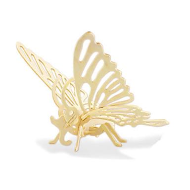 3D - Puzzle Holzpuzzle Holzmodelle Dinosaurier Flugzeug Schmetterling 3D Heimwerken Holz Kinder Unisex Geschenk