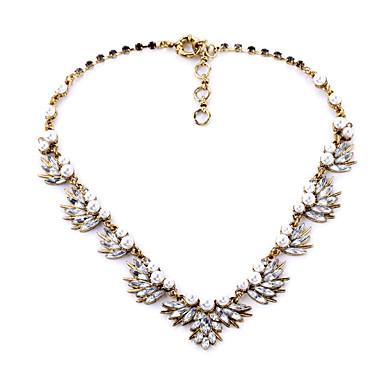 Γυναικεία Σκέλη Κολιέ Leaf Shape Εξατομικευόμενο κοσμήματα πολυτελείας Λευκό Κοσμήματα Για Γάμου 1pc