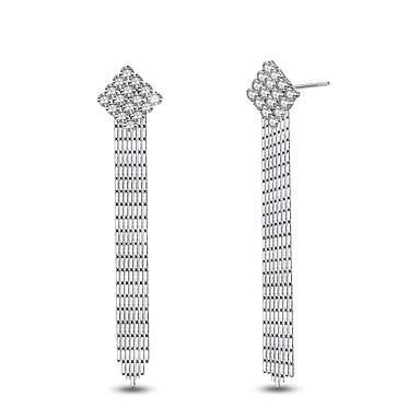 Cercei Stud Pătrat La modă stil minimalist Clasic Elegant Argilă Square Shape Bijuterii PentruNuntă Petrecere Zi de Naștere Zilnic Casual