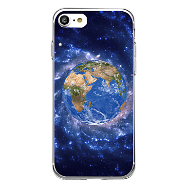 tok Για Apple Εξαιρετικά λεπτή Με σχέδια Πίσω Κάλυμμα Πλακάκι Μαλακή TPU για iPhone 7 Plus iPhone 7 iPhone 6s Plus iPhone 6 Plus iPhone