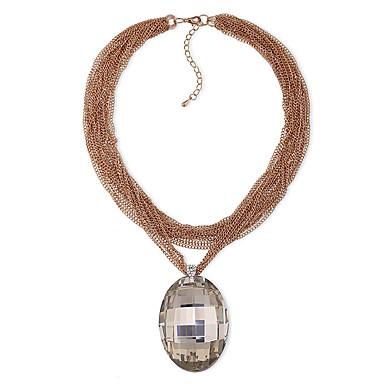 Γυναικεία Κρεμαστά Κολιέ Κρυστάλλινο Εξατομικευόμενο Μοναδικό Μοντέρνα Euramerican Κοσμήματα Για Γάμου Πάρτι